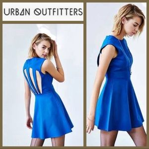 NWT! [Urban Outfitters] All Nighter Blue Fit Flare